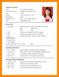 Image Result For Download Cv Pdf Riwayat Hidup Resume Guru Resume Keren