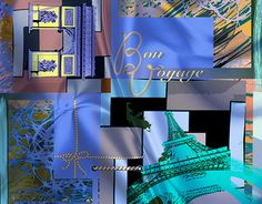 """Check out new work on my @Behance portfolio: """"Silk Scarf 'Douce France'"""" http://be.net/gallery/41203839/Silk-Scarf-Douce-France"""