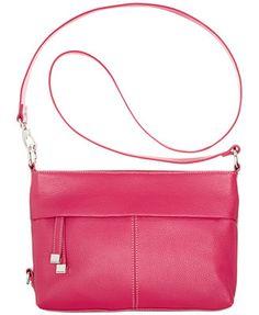 0d1cfe5fa507 Tignanello Horizontal Leather Convertible Crossbody Bag Tignanello  Handbags