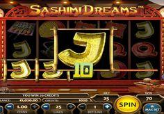 Игровой автомат Sashimi Dreams с выводом денег. Этот игровой онлайн автомат перенесет в уютный суши-бар, в котором вас ждут большие денежные выплаты. Выводите призы из Sashimi Dreams и заодно насладитесь приятной восточной музыкой.   Символы автомата На игровом поле онлайн