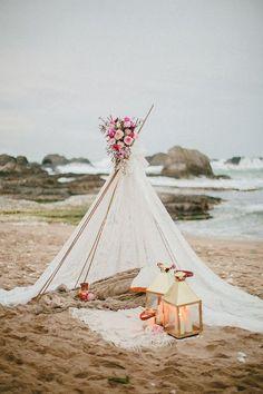 Boho Tipi Wedding Barckdrops /  / http://www.deerpearlflowers.com/bohemian-teepee-wedding-ideas/