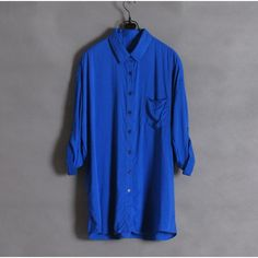 Cosy Loose Shirts with Bright Colors