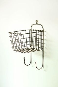 """Keep • """"Hanging Wire Wall Basket"""" kept into For The Home by jojotastic"""