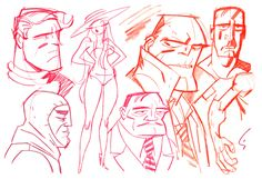 Worked with dc comics and other big companies like cartoon network, he&apos Illustration Sketches, Sketches, Character Design, Cartoon Drawings Disney, Cartoon Styles, Artist, Comic Book Artists, Cartoon Design, Retro Cartoons