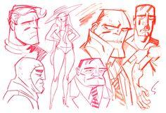 Comic Book Artist: Shane Glines | Abduzeedo | Graphic Design Inspiration and Photoshop Tutorials
