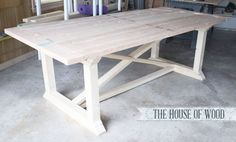 Build your own ZGallerie-inspired dining table!