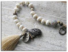 Bracelet bohème Perles en osmétal scintillantmétal par rareetsens, €44.00