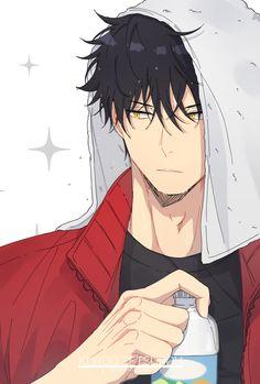 Kuroo Haikyuu, Haikyuu Manga, Haikyuu Fanart, Manga Anime, Kuroo Tetsurou Hot, Kenma, Hot Anime Boy, Cute Anime Guys, Fanarts Anime
