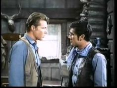 """Laramie - Pards III - Robert Fuller, John Smith This video shows the chemistry between John Smith and Robert Fuller. and """"It ain't even Saturday"""" lol"""