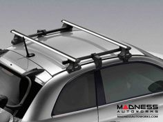 Take a trip and bring your gear along!    FIAT 500 Removable roof rack with extension for loading ski, snowboard, bike and luggage carriers.        Please note! This rack will not fit the 500c model or the 500 with a sunroof.    Note: Item is special order