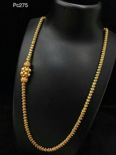 #GoldJewelleryMangalsutra Gold Chain Design, Gold Bangles Design, Gold Jewellery Design, Jewellery Diy, Antique Jewellery, Pearl Necklace Designs, Gold Earrings Designs, Gold Mangalsutra Designs, Gold Jewelry Simple