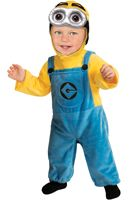 Despicable Me 2 Minion Dave Infant/Toddler Costume for Halloween - Pure Costumes