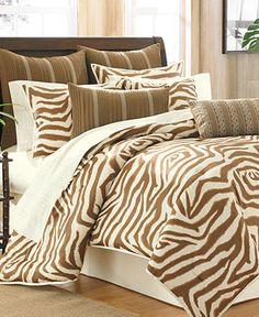 Brown Zebra Amp Orange Bedding All Things Animal Print