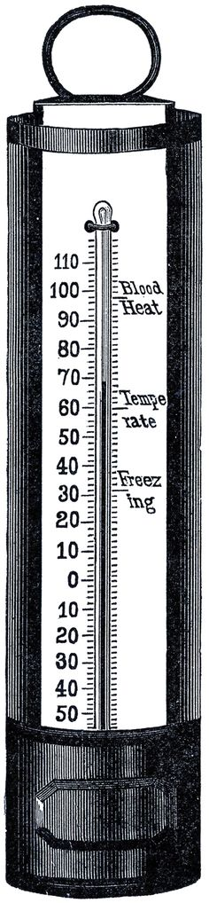 Free Thermometer Clip Art - Graphics Fairy
