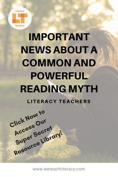Reading to learn vs. learning to read is a myth. Students are always reading to learn and always learning to read. Learn what you need to know. Reading Comprehension Skills, Reading Strategies, Reading Practice, Teaching Reading, Middle School Teachers, High School Students, School Levels, Instructional Strategies, Struggling Readers