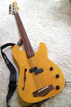 Fender Japan / PBAC100FL 1991-1994 Precision Bass Acoustic 100 Fret less