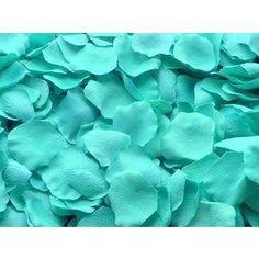 Tiffany Blue flower petal for wedding decoration