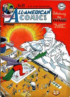 DC Comics Golden Age, Green Lantern Vs Icicle