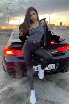 Bmw Girl, Sr1, Sexy Latex, Car Girls, Sexy Cars, Beautiful Actresses, Fitness Models, Sexy Women, Outfits