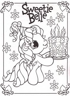 my-little-pony-coloring-pages-29 | par Coloringpagesforkids