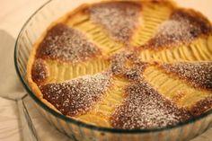 Kokkeillaan: Päärynä-mantelitorttu #päärynä #piirakka