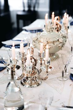 Beautiful table settings - Karl Lagerfeld