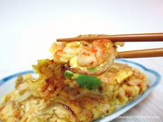My family loves prawns omelette with onion. It is the most simple, easy and delicious and it can be done within 10 mins. I usually cook this dish whenever I run out of idea what to cook for lunch or dinner and it goes well with rice or porridge too. Printable recipes Here is the …