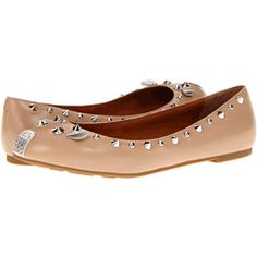 d634b1d4dfeb Marc by marc jacobs mouse nappa metallic ballerinas nappa nude kid pearled