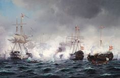 Neumann The Battle of Copenhagen, 1900 Battle Of The Nile, Ocean At Night, Ship Of The Line, Ship Paintings, Sailing Ships, Sailing Boat, Naval History, Nautical Art, Navy Ships