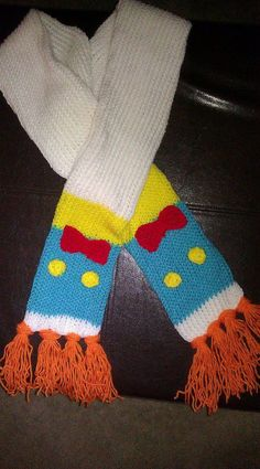 Donald duck inspired scarf by michelesdesignsbymp on Etsy, $20.00