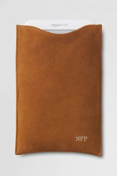 Suede and Shearling Ereader Case. Not gonna lie, not an e-reader fan but this is beautiful
