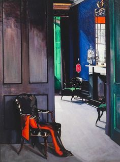 Francis Cadell: Interior with Opera Cloak, date not known (early 20th century).