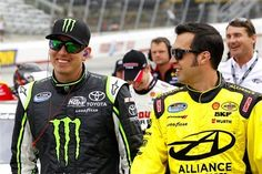 Kyle Busch and Sam Hornish Jr. - two of my all time faves! :)