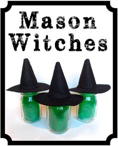 Mason Jar Witches -