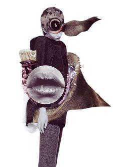 Ashkan Honarvar 'Vanitas' Collages by shawn Fashion Illustration Collage, Fashion Collage, Illustration Art, Medical Illustration, Illustrations, Vanitas, Collage Design, Collage Art, Collages