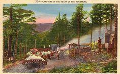 Camp Life, Great Smokies, 1930s