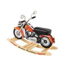 Schaukelmotorrad Harley
