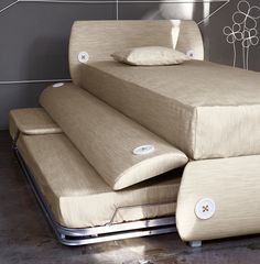 Bonaldo Candy Tre Single Bed | Childrens Beds and Single Beds