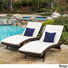 online shopping for Christopher Knight Home Sienna Colored Lounge Cushion Mattress Set Ivory from top store. See new offer for Christopher Knight Home Sienna Colored Lounge Cushion Mattress Set Ivory Pool Lounge Chairs, Lounge Chair Cushions, Outdoor Cushions And Pillows, Chaise Lounges, White Cushions, Chaise Lounge Outdoor, Patio Daybed, Club Chairs, Mattress Sets