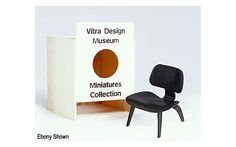 Discover the Vitra Miniatures Collection: Eames LCW by Charles and Ray Eames, a handmade replica of a classic modern design, reduced in size, a fitting gift for a furniture lover or design professional. Vitra Chair, Miniature Chair, Mini Chair, Vitra Design Museum, Charles & Ray Eames, Design Within Reach, Art And Architecture, Dollhouse Miniatures, Modern Furniture