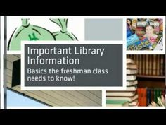 Ponderosa High School Library ~ Orientation video ♥ #AdobeEduSweeps