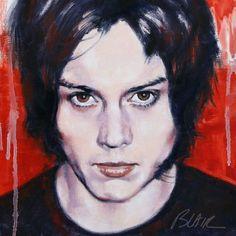 Jack White, 2009 by Cynthia-Blair.deviantart.com on @deviantART