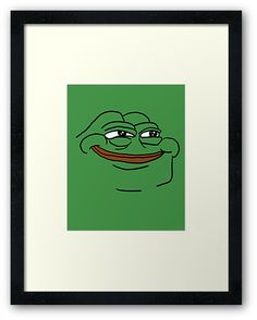 mean green meme pepe the frog