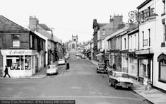 Seaham, Church Street c1955. © Copyright The Francis Frith Collection 2010.