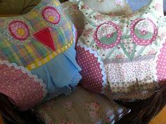 Owl cushions - The Supermums Craft Fair