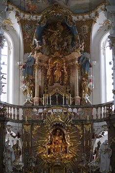 High altar - Kloster Andechs, Oberbayern