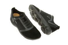Details about Geox Respira Sports Snake K Men's Sneakers Low Shoes U4207K Grey