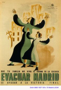 Spa8n - 1937. - GC - poster - autor: Giron