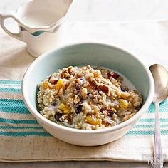 Make this slow cooker oatmeal for weekend guests or anytime you want a hot, no-fuss breakfast. Be sure to use steel-cut Irish oats; no other type will stand up to long cooking.