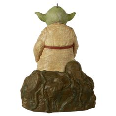 Star Wars: The Empire Strikes Back™ Jedi Master Yoda™ Ornament With Sound and Motion - Keepsake Ornaments - Hallmark $39.99